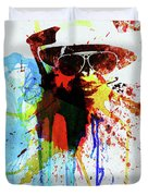 Legendary Fear And Loathing Watercolor Duvet Cover