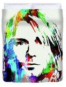 Legendary Kurt Cobain Watercolor Duvet Cover