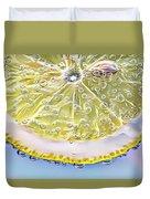 Lemon Slice Duvet Cover
