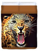 Leopard 2 Duvet Cover