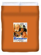 Les Miserables 1958 French Movie Classic Duvet Cover