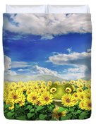 Let's Be Friends Duvet Cover
