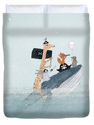 Lets Play Pirates Duvet Cover