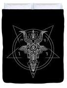 Leviathan Pentagram  Duvet Cover