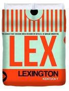 Lex Lexington Luggage Tag I Duvet Cover