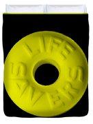 Life Savers Banana Duvet Cover