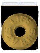 Life Savers Butterscotch Duvet Cover