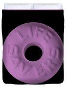 Life Savers Pink Lemonade Duvet Cover