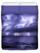 Lighting Sea Duvet Cover