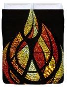 Lighting The Way - Wayland Kaltwasser Flame Duvet Cover