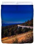 Linn Cove Viaduct - Blue Ridge Parkway Duvet Cover