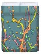 Liquid Rainbow Duvet Cover