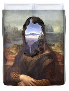 Lisa With A View Duvet Cover