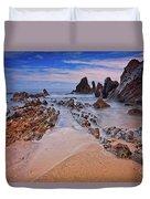 Little Corona Del Mar Beach Vi Duvet Cover