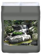 Little Waterfall. Duvet Cover