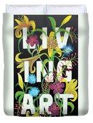 Living Art Duvet Cover