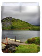 Llyn Y Dywarchen, Rhyd Ddu Snowdonia Duvet Cover
