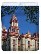 Lockhart Courthouse Duvet Cover