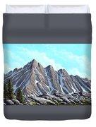 Lofty Peaks Duvet Cover