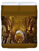 Looking Up Within The Cordoba Mezquita Duvet Cover
