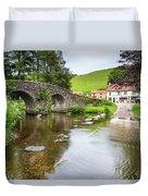 Lorna Doone Farm Duvet Cover