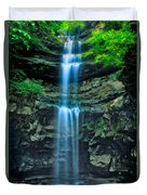 Lost Creek Falls Duvet Cover