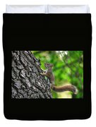 Lost Nuts Duvet Cover