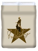 Louis Armstrong - Signature Duvet Cover