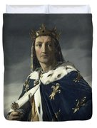 Louis Viii, King Of France Duvet Cover