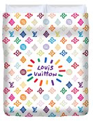 Louis Vuitton Monogram-12 Duvet Cover