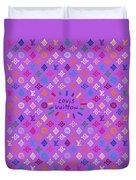 Louis Vuitton Monogram-5 Duvet Cover