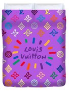 Louis Vuitton Monogram-8 Duvet Cover