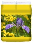 Louisiana Iris Duvet Cover