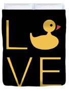 Love Ducks Super Cute And Very Fun Love Gift Idea Design Duvet Cover