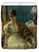 Lovelorn, 19th Century Duvet Cover