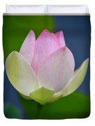 Lovely Soft Lotus Duvet Cover