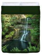 Lower South Falls Duvet Cover