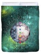 Lunar Mysteries Duvet Cover by Bee-Bee Deigner