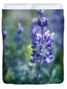 Lupine Blues Duvet Cover