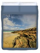Luskentyre Digital Painting Duvet Cover