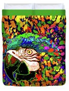 Macaw High I Duvet Cover