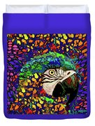 Macaw High II Duvet Cover