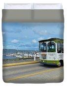 Macmillan Pier Provincetown Cape Cod Massachusetts 03 Duvet Cover