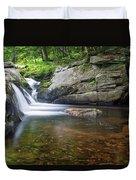 Mad River Falls Duvet Cover by Nathan Bush