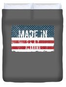 Made In Clay, Alabama Duvet Cover