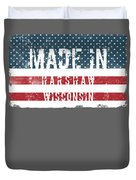 Made In Harshaw, Wisconsin Duvet Cover