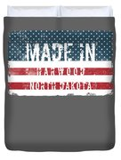 Made In Harwood, North Dakota Duvet Cover