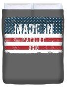 Made In Patriot, Ohio Duvet Cover