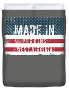 Made In Perkins, West Virginia Duvet Cover