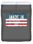 Made In Shade, Ohio Duvet Cover